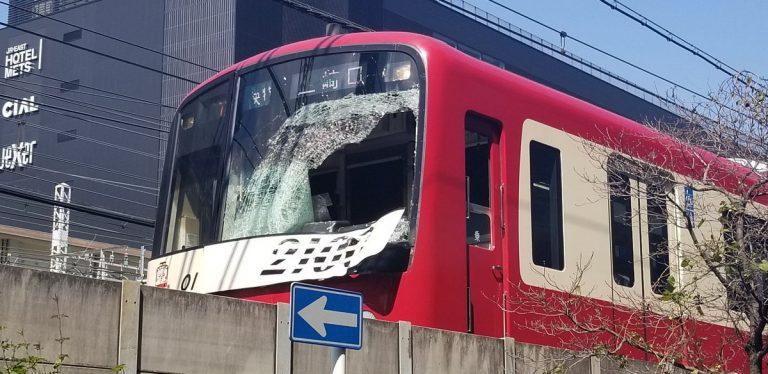 京急線神奈川駅人身事故